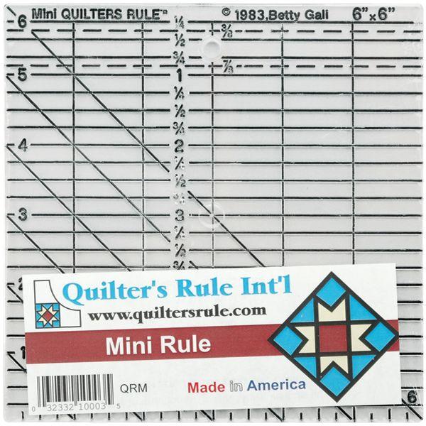Quilter's Mini Ruler