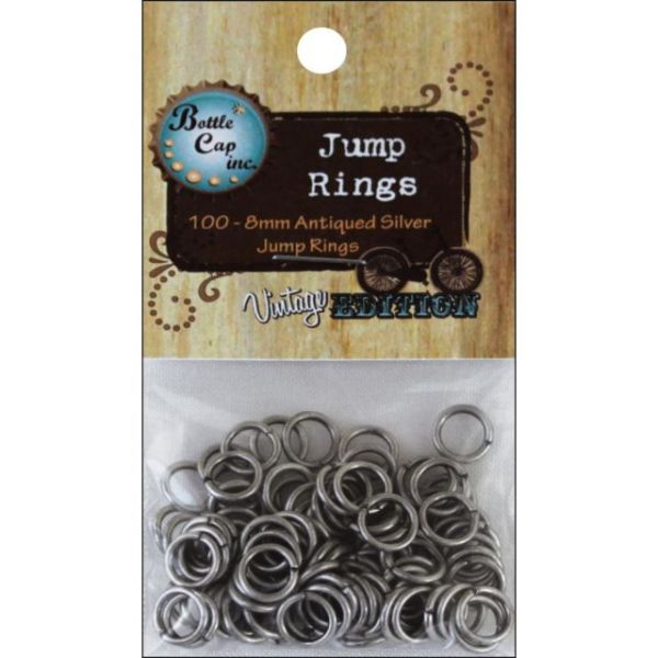 Vintage Collection Jump Rings 8mm 100/Pkg