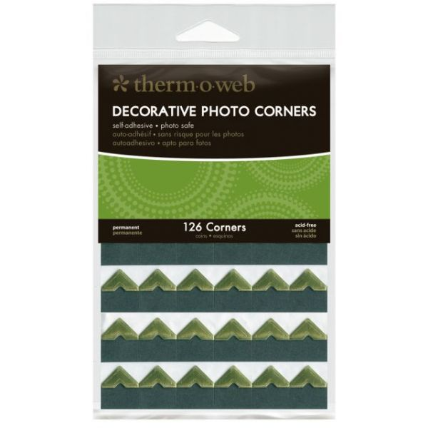 Decorative Photo Corners 126/Pkg