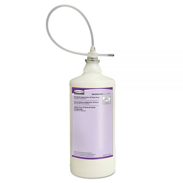 Rubbermaid Commercial Enriched Lotion Antibacterial Hand Soap Refills