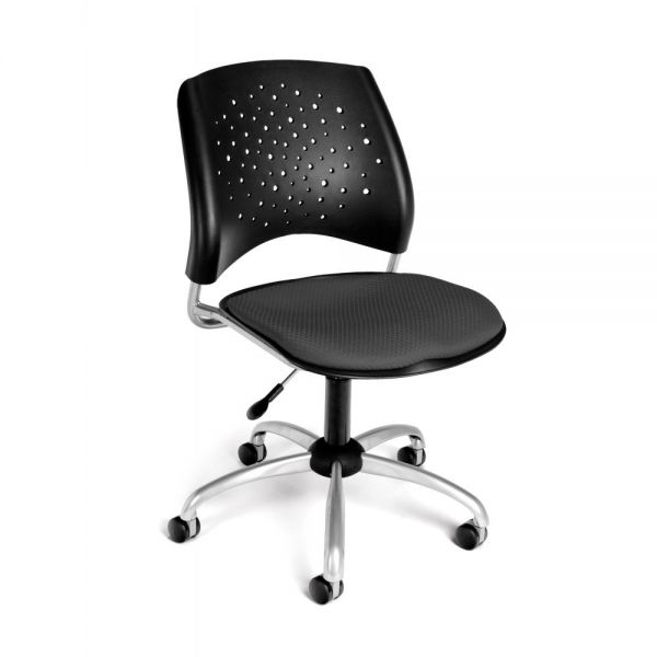 OFM Stars Series Armless Swivel Chair