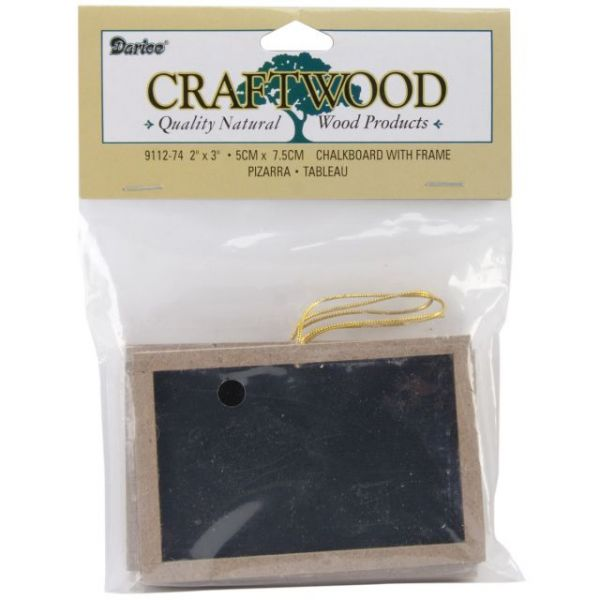 Darice Craftwood Framed Chalkboards