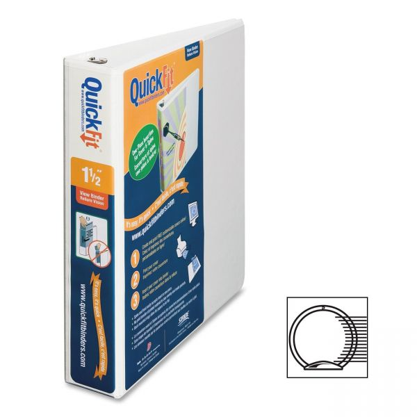 "Stride QuickFit Unique Design 1 1/2"" 3-Ring Binder"