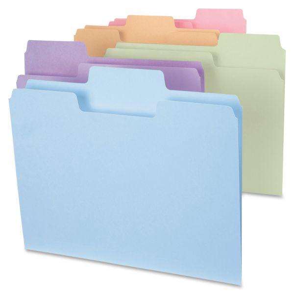 Smead SuperTab Colored File Folders