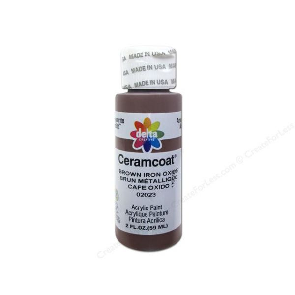 Ceramcoat Brown Iron Oxide Acrylic Paint