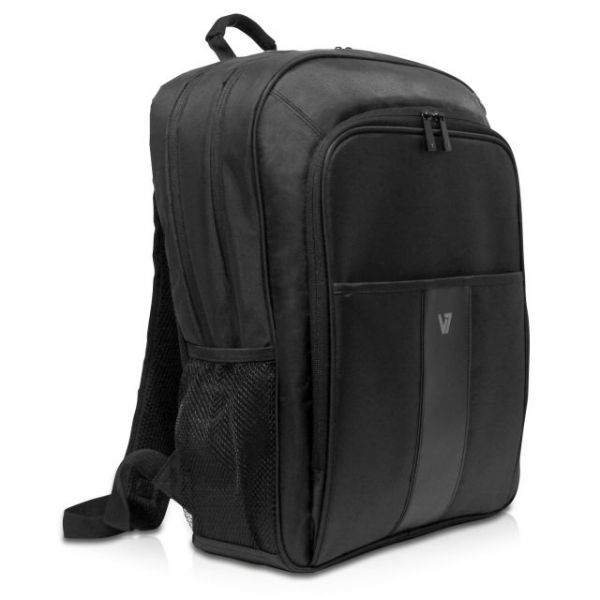"V7 Professional CBP21-9N Carrying Case (Backpack) for 16"" Notebook, Tablet, Smartphone, Business Card, Pen, Key"