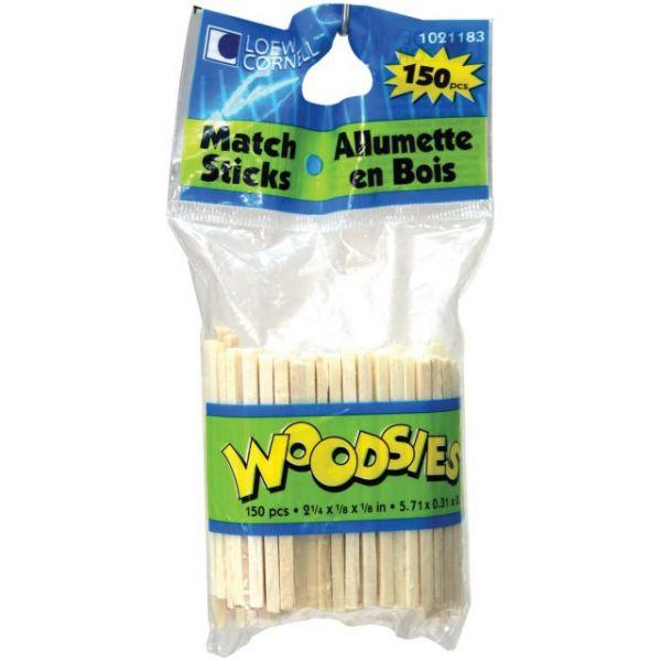 Woodsies Match Sticks
