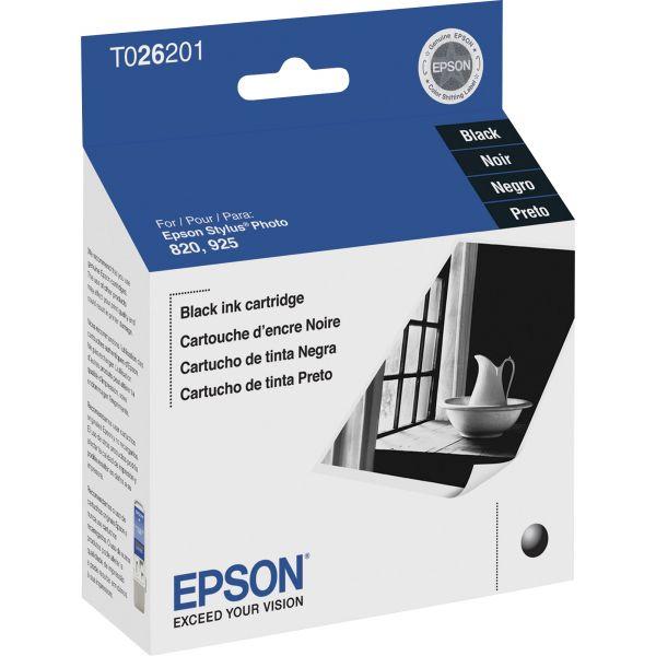 Epson T026 Black Ink Cartridge