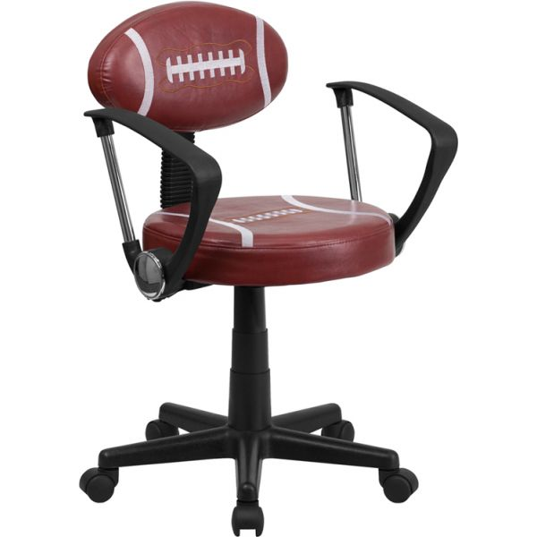 Flash Furniture Football Student Task Chair with Arms