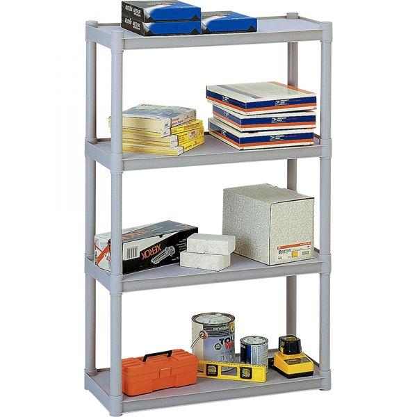 Iceberg Rough 'N Ready 4-Shelf Open Storage System