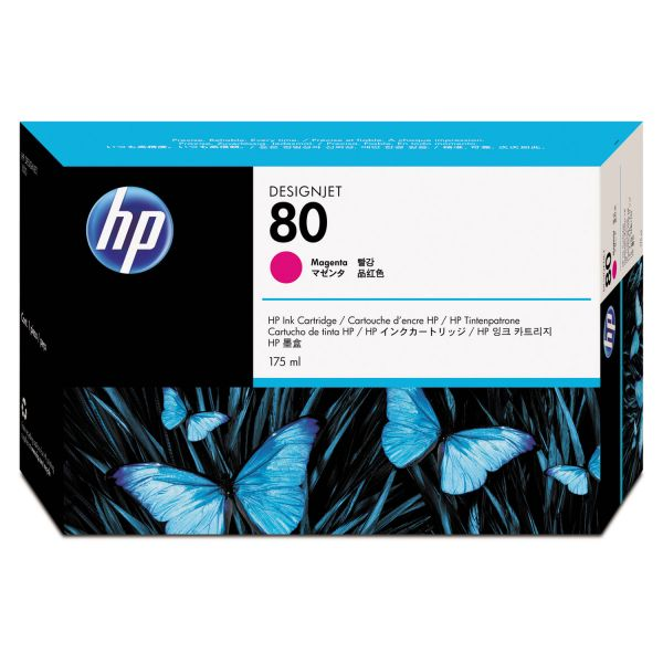 HP 80 Magenta Ink Cartridge (C4874A)