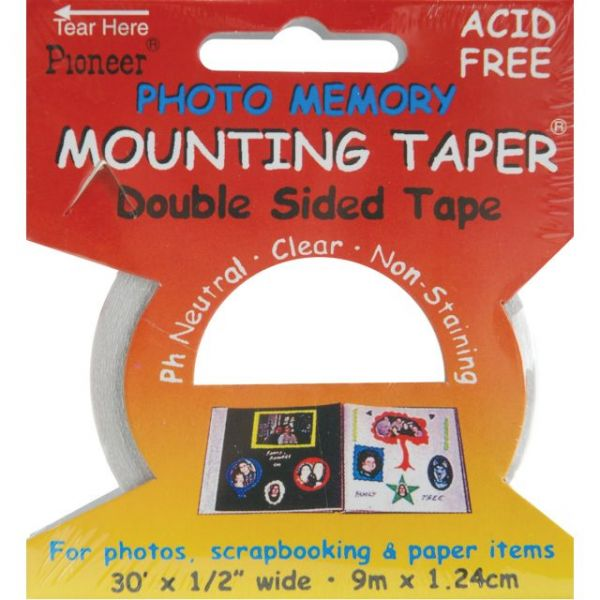 Photo Memory Double-Sided Mounting Tape