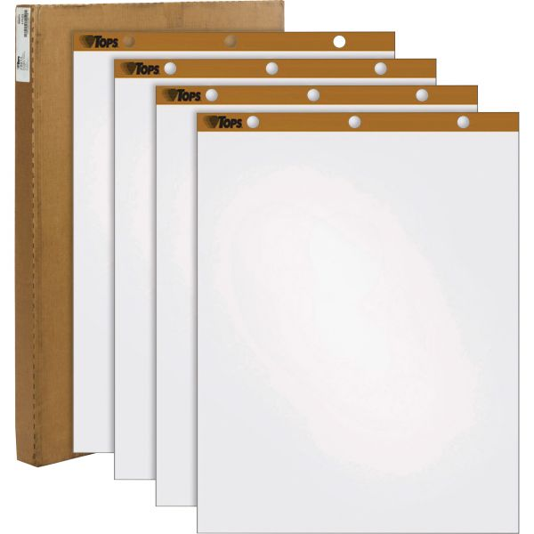 TOPS Plain Paper Easel Pads
