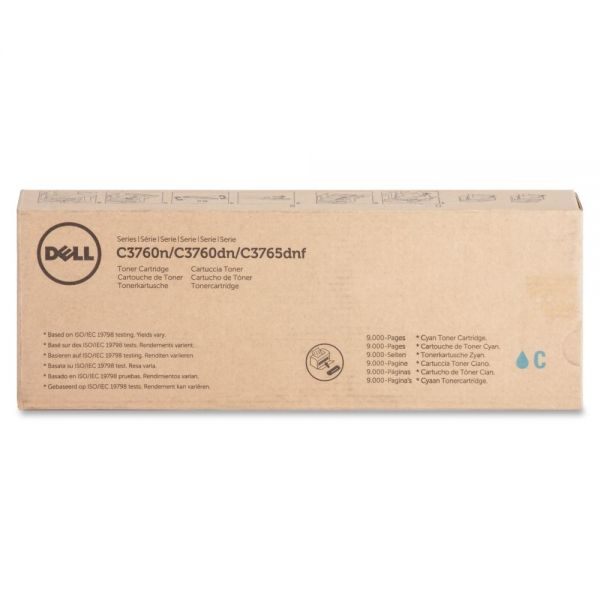 Dell Extra High-Yield Cyan Toner Cartridge