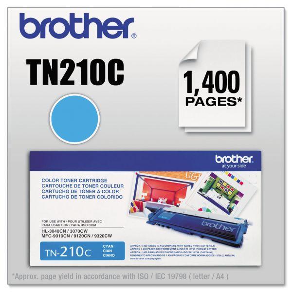 Brother TN-210C Toner Cartridge