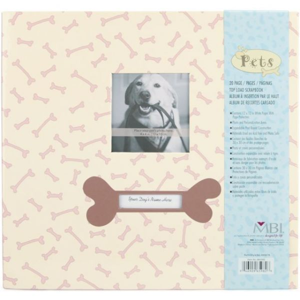 "Pet Post Bound Album 12""X12"""