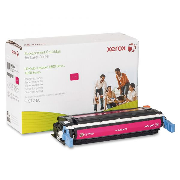 Xerox Remanufactured HP C9723A Magenta Toner Cartridge