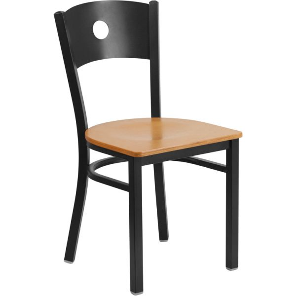 Flash Furniture HERCULES Series Circle Back Restaurant Chair