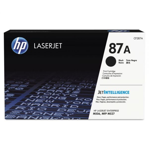 HP 87A Black Toner Cartridge (CF287A)