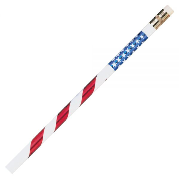 Moon Products Stars & Stripes Themed Pencils