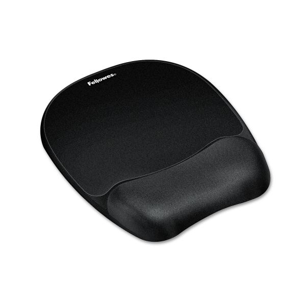 Fellowes Memory Foam Mouse Pad With Wrist Rest