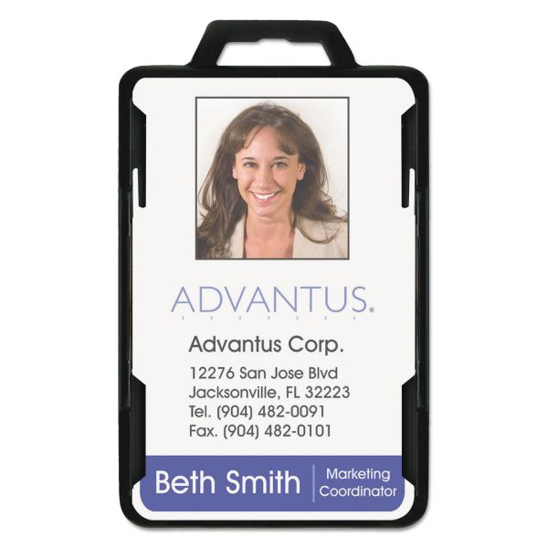 Advantus Secure-Two Card RFID Blocking Badges