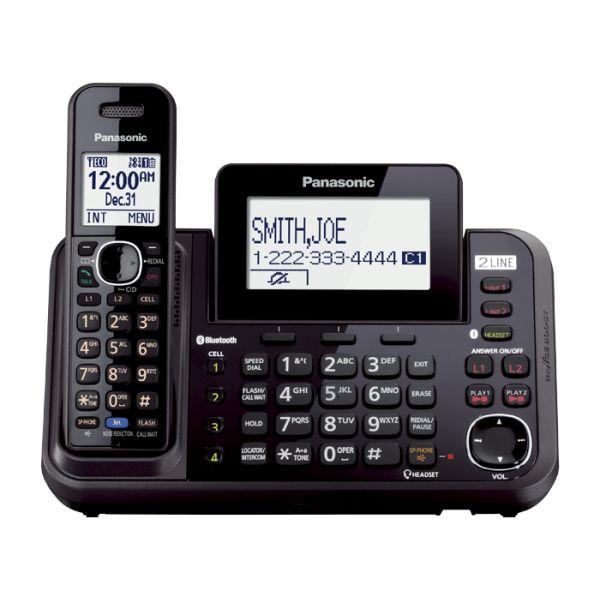 Black AT/&T EL52315 DECT 6.0 Cordless Phone Silver