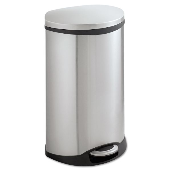 Safco Step-On 12.5 Gallon Trash Can