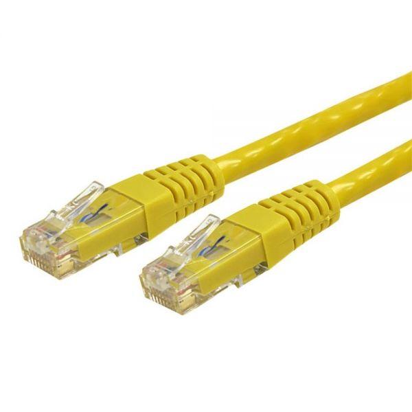 StarTech.com 7 ft Yellow Molded Cat6 UTP Patch Cable - ETL Verified