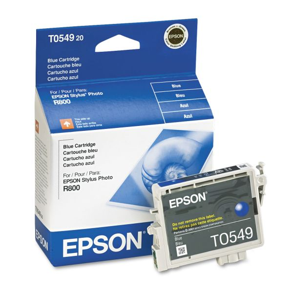 Epson T0549 Blue Ink Cartridge