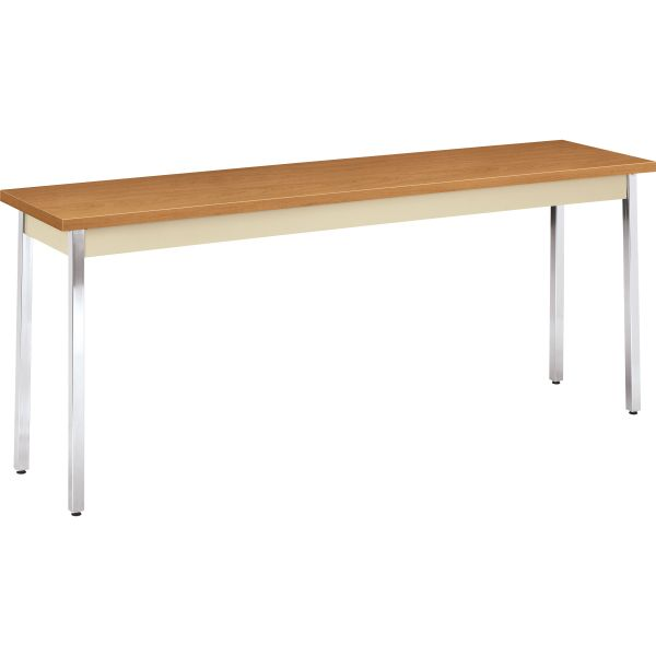 HON Metal Utility Table  18D x 72W