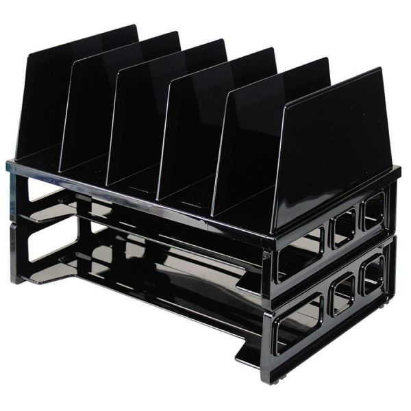 OIC Horizontal/Vertical Desktop File Organizer