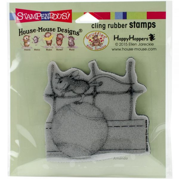 "Stampendous House Mouse Cling Stamp 4.75""X4.5"""