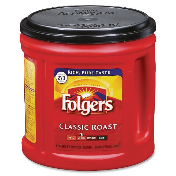 Folgers Ground Coffee (2.12 lbs)