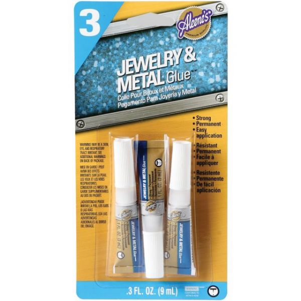 Aleene's Jewelry & Metal Glue 3/Pkg