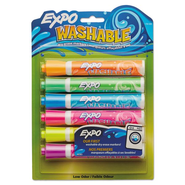 Expo Washable Dry-Erase Markers