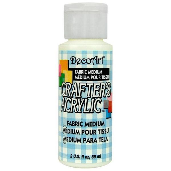 Deco Art Fabric Medium Crafter's Acrylic Paint