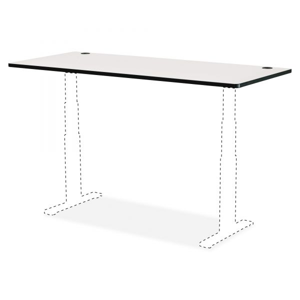 "Safco 48 x 24"" Top for Height-Adjustable Table"