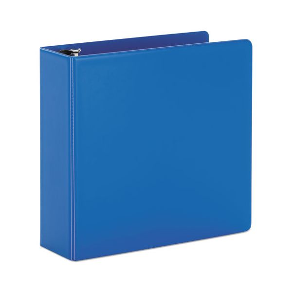 "Cardinal SuperStrength Locking 3-Ring Binder, 3"" Capacity, Slant-D Ring, Blue"