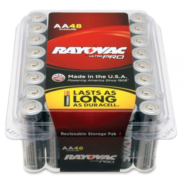 Rayovac Ultra Pro Alka AA48 Batteries