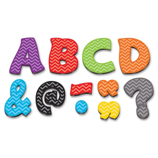 Teacher Created Resources Chevron Funtastic Font Magnetic Letters