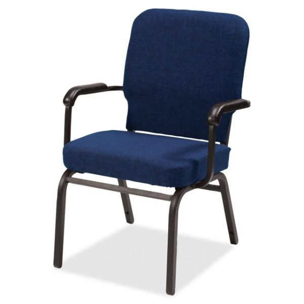 Lorell Big & Tall Oversized Stacking Chairs