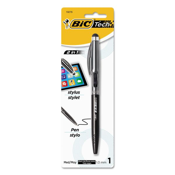 BIC Lightweight 2-in-1 Stylus and Ball Pen
