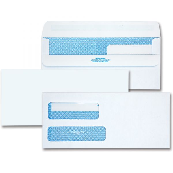 Quality Park Double Window Envelopes