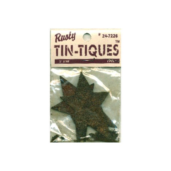 Rusty Tin-Tiques Tin Cutouts
