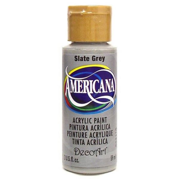 Deco Art Slate Grey Americana Acrylic Paint