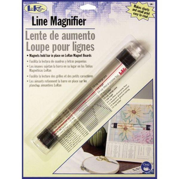 "LoRan Magnetic Line Magnifier .875""X6.5"""