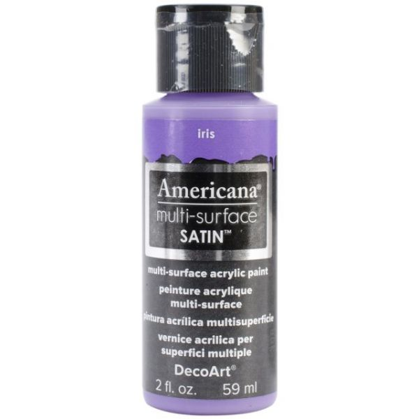 Deco Art Iris Americana Multi-Surface Satin Acrylic Paint
