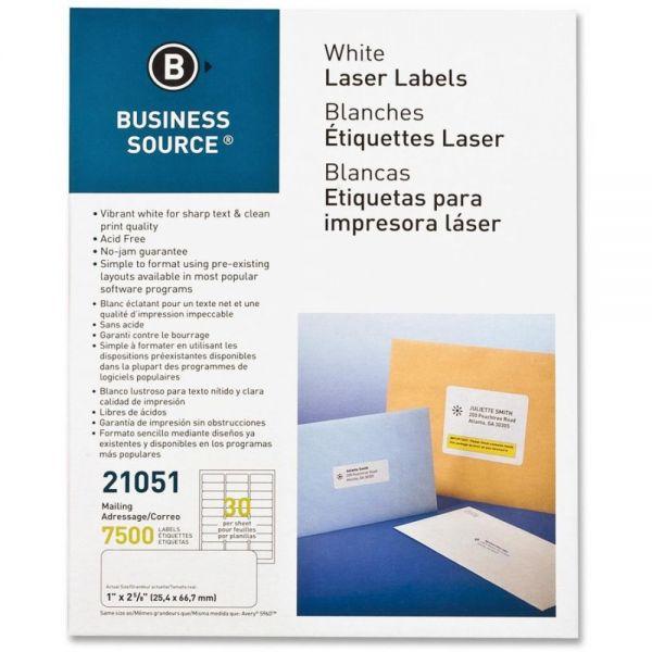 Business Source Address Labels