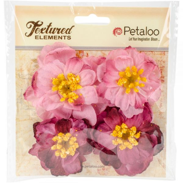 Botanica Ruffled Peony 4/Pkg